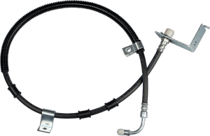complex brake line assembly